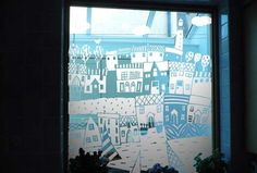 Bespoke Sandblasted Window
