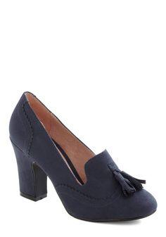 Blue Sheared Shoes, #ModCloth