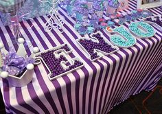 Candy at a Sofia the First Princess Party #princess #sofiathefirst