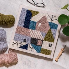 381 vind-ik-leuks, 24 reacties - Textile Designer | Liesbeth (@sloppopnl) op Instagram: 'Do you want to know more about punch needling (needle, cloth) and of course tips and tricks?…'