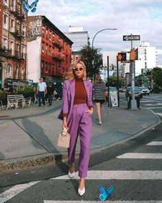 The best blogger & influencer street style looks from NYFW  <br> Street Style Trends, Street Style Outfits, Look Street Style, Street Outfit, Street Style Women, Work Outfits, London Fashion Weeks, Fashion Week Paris, New York Fashion Week Street Style