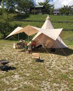 【保存版】テントとタープを組み合わせて自在にアレンジ!快適なキャンプを楽しもう! | hinata