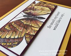 Swallowtail, An Open Heart, Stampin' Up!, Brian King, FabFri77, sympathy card