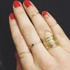 Sparkles and Catbird stacks.