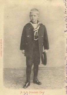 Young Prince Carol of Romania