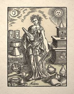 Luna by Giulio Bonasone 1530-1570 - very tarotesque (Woman is a symbol of Alchemy).