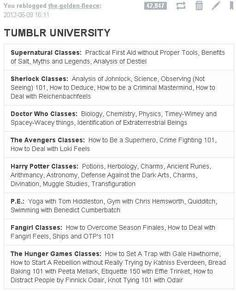 What's your classes? Mine are Avengers, Potter, Supernatural and Doctor Who :)