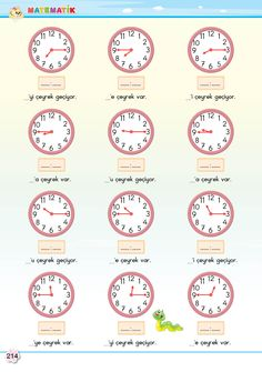 2. Sınıf Soru Bankası Matematik Süper Kitap Turkish Lessons, Clock, Clip Art, Student, Math, School, Books, Math Lessons, Lyrics