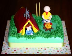 Camping Caillou and Rosie by Cupcake (Francisca Neves)