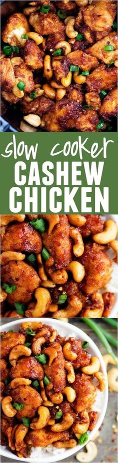 Slow Cooker Cashew Chicken | Cake And Food Recipe