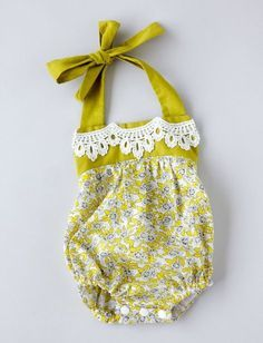 boho baby romper pattern - see kate sew Boho Strampler Muster Baby Clothes Patterns, Sewing Patterns Free, Free Sewing, Clothing Patterns, Sewing Tips, Sewing Tutorials, Pattern Sewing, Free Baby Patterns, Doll Patterns