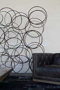 Modern art installation from HD Buttercup. #HDButtercupxgoop