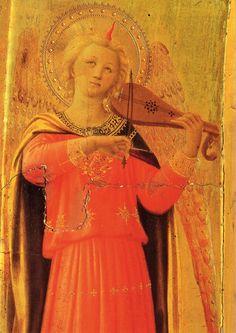 Fra Angelico: Engel mit Birnengeige