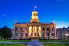 Old Iowa State Capitol - Iowa City (University of Iowa)