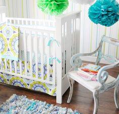 New Arrivals Indigo Summer Baby Bedding. $156.00-$516.00. #home #bedroom #baby #mom #dad #babies