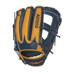 In 2012, Detroit Tiger Miguel Cabrera achieved the first Triple Crown since 1967. To celebrate Miguel's accomplishment Wilson created the Navy and Orange Tan A2000 MC24. Aso-san designed a new pattern based off of the A2000 EL3 that includes a custom crown insert on the back of the glove and the length MIguel used at the hot corner.
