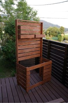 {2A1CE44B-DB5F-4875-9F90-1D16F94196A1:01} Diy Crafts Hacks, Diy And Crafts, Outdoor Chairs, Outdoor Furniture, Outdoor Decor, Outdoor Pallet Projects, Home Greenhouse, Backyard, Patio