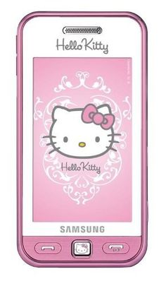 Samsung S5230, Hello Kitty, Telefono cellulare, fotocamera 3 Mpix, Bluetooth, radio FM, colore: Bianco e Rosa [Importato da Germania] di Samsung, http://www.amazon.it/dp/B002NK1TVY/ref=cm_sw_r_pi_dp_5VQYrb08PJJAM