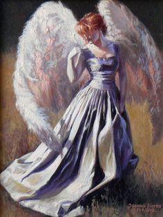 Peinture Anioł opiekuńczy  - L