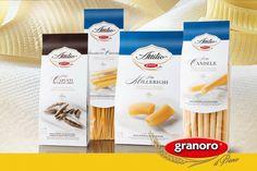 La pregiata linea delle Specialità di Attilio, pasta trafilata al bronzo, è dedicata al Sig. Attilio Mastromauro, fondatore del Pastificio Granoro. http://www.granoro.it/…/i-prod…/143/le-specialita-di-attilio