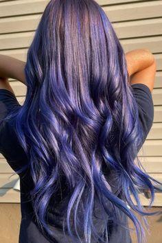 The glow makes us 🤤 🤤 🤤 @megmccormickk in Poseidon and Purple Rain ☔️ #AFposeidon #AFpurplerain Dyed Hair Blue, Hair Color Blue, Arctic Fox Poseidon, Arctic Fox Hair Color, Lots Of Makeup, Bright Hair, Light Blonde, Free Hair, Purple Rain