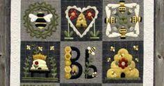 Image result for bee quilt