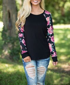Ethnic O Neck Floral Patchwork Cheap T Shirt