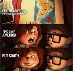 Disney movies. Up