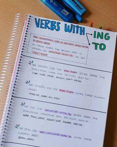 Easy English Grammar, Teaching English Grammar, English Verbs, English Writing Skills, Grammar And Vocabulary, English Vocabulary Words, English Language Learning, English Lessons, Grammar Rules