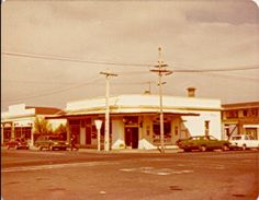 My parents owned the dairy (convenience store) on the corner, as well as the bakery next door (on the left). Photo taken in the Invercargill New Zealand. Salford, Next Door, Family History, New Zealand, Bakery, Convenience Store, Parents, Corner, Kitchen