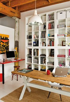 bureau d 39 angle groove coloris acacia vente de bureau conforama for the home pinterest. Black Bedroom Furniture Sets. Home Design Ideas