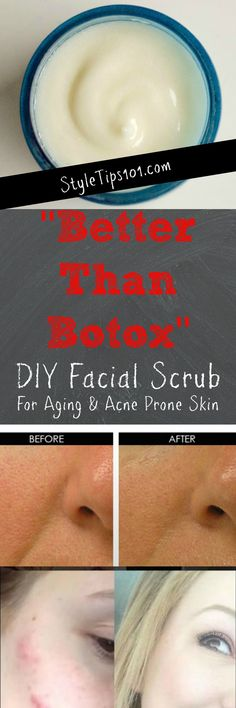 anti-wrinkle facial scrub