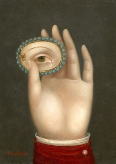 Hand with Lover's Eye.  Fatima Ronquillo, 2011