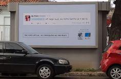 Accade in Brasile. Un gruppo di attivisti per i diritti umani rende pubblici i messaggi offensivi nella zona di chi li ha inviati