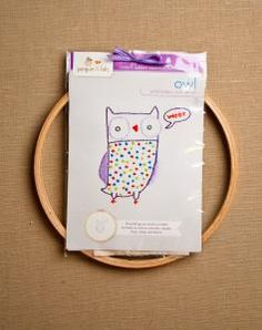 Animal Embroidery Kits. These are a cute way to get into embroidery.