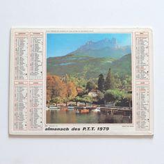 almanach 1979 Talloires - Deco Graphic