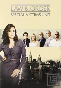 Law & Order: Special Victims Unit (SVU) Season 13 DVD Set