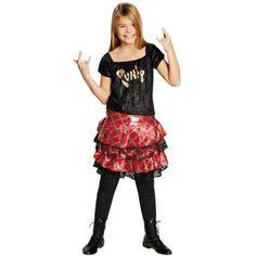 Déguisement punk fille