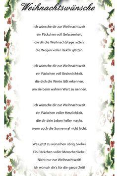 Weihnachtswuensche: