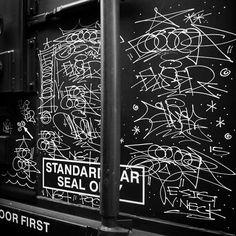 intergalactic planetary planetary intergalactic. another dimension another dimension another dimension... Feeceez (@feeceez) and Ekser (@3ks3r) have teamed up with Nasa (@nasa) for that spacetime collab . #feeceez #ekser #handstyle #graffiti #space #nasa //follow @handstyler on Instagram