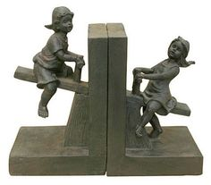 Teeter Totter Bookends