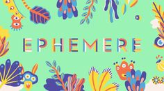 Festival EPHEMERE 2015 on Vimeo
