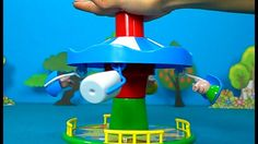 Peppa Pig in English. Peppa Pig and Merry-Go-Round. Peppa Pig Game for k...
