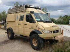 MB off-road motorhome Auto Camping, Off Road Camping, Van Camping, Mercedes Benz Bus, Mercedes Sprinter 4x4, Sprinter Camper, Iveco 4x4, Iveco Daily 4x4, 4x4 Van