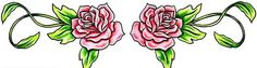 There are many different tattoo designs that you can find. One of the most popular is rose design. However, many people still thinking that rose tattoo are the Tribal Rose Tattoos, Rose Tattoos For Women, Spine Tattoos For Women, Back Tattoo Women, Back Tattoos Spine, Girl Back Tattoos, Lower Back Tattoos, Rose Tattoo Meaning, Flower Tattoo Meanings
