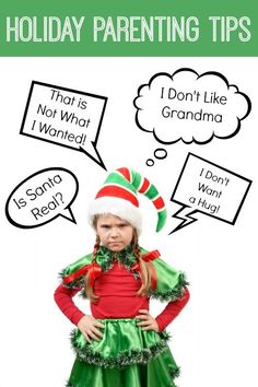 The holidays can be tough when it comes to parenting. Dealing with extended families, blended families, ungrateful kids, and the Santa question can make them hard. Here's some great parenting tips to help you get through. Parenting Toddlers, Parenting Books, Parenting Advice, Parenting Classes, Mom Advice, Christmas On A Budget, Christmas Holidays, Christmas Activities, Activities For Kids
