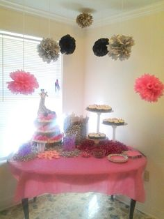 Baby shower idea for girl total cost including diaper cake $85