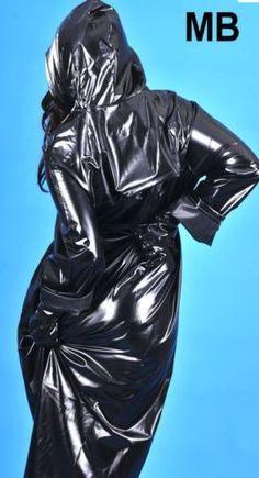 Rain Coat Raincoat Rainwear impermeable MANTEAU DE PLUIE PVC No Rubber