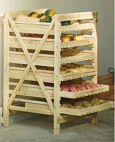 Ящик для овощей на балконе своими руками