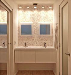 Fantastic Floating Vanity  Contemporary  Bathroom  HGTV